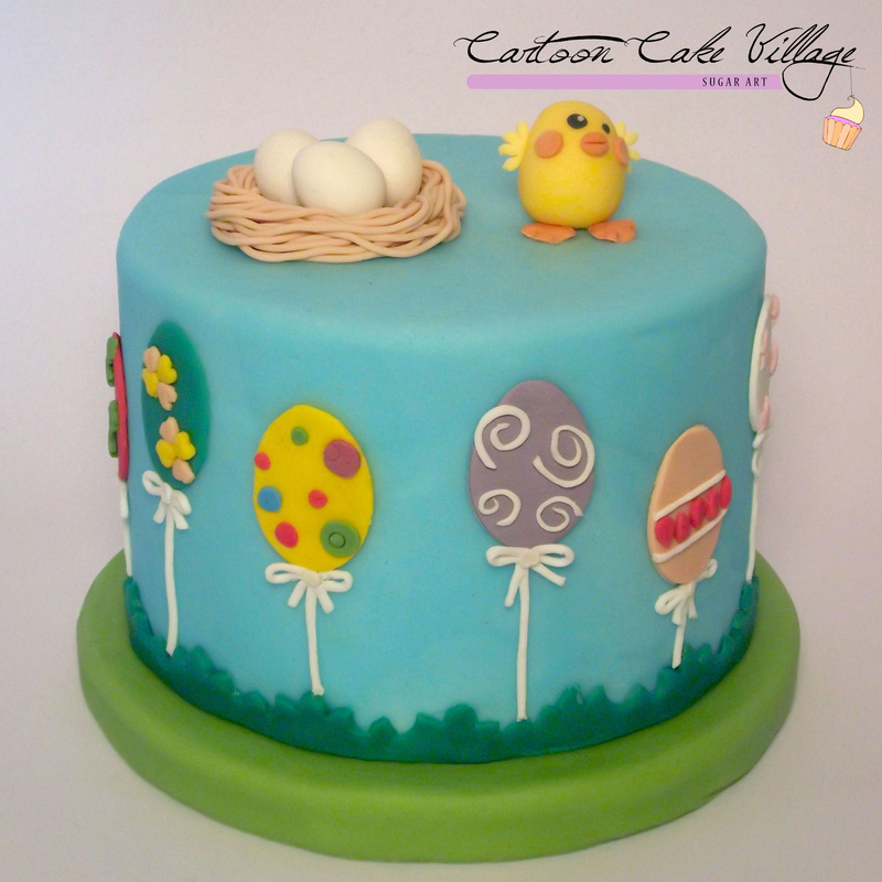 Torta di pasqua - Cartoon Cake Village